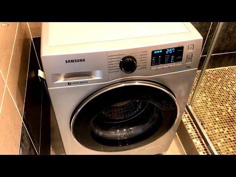 Стиральная машина Samsung WW70J52E0HS. Характеристики, программы, обзор и отзыв