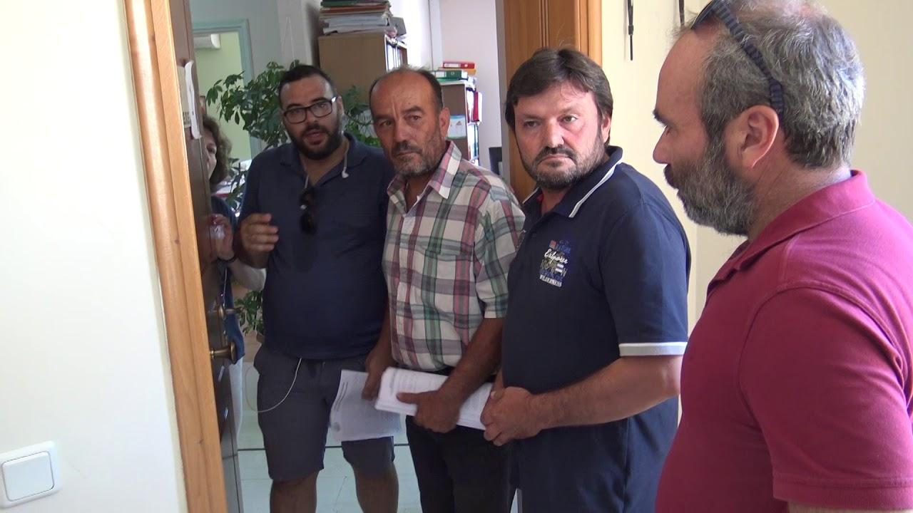 Κατάληψη του ΟΠΕΚΕΠΕ από τους Αγροτικούς Συλλόγους Πελοποννήσου