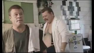 """Дукалис в бане сдаёт оружие в сейф из сериала """"Улицы разбитых фонарей. Менты 3"""""""