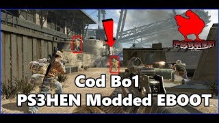 Call of Duty Bo1 With RedBox Multiplayer Modded EBOOT PS3HEN 2019