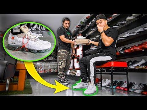 Wearing FAKE Nikes To Buy Nikes!