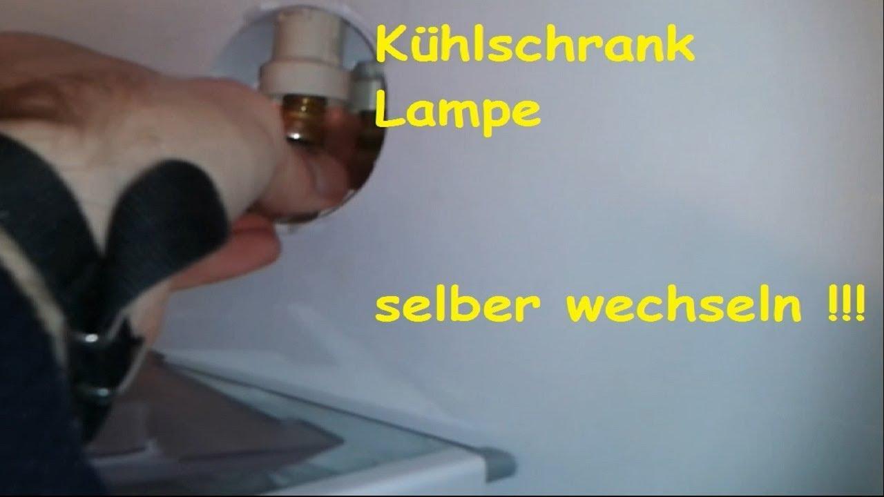 Gorenje Kühlschrank Lampe : Kaputte kühlschrank lampe selber wechseln kühlschrank licht