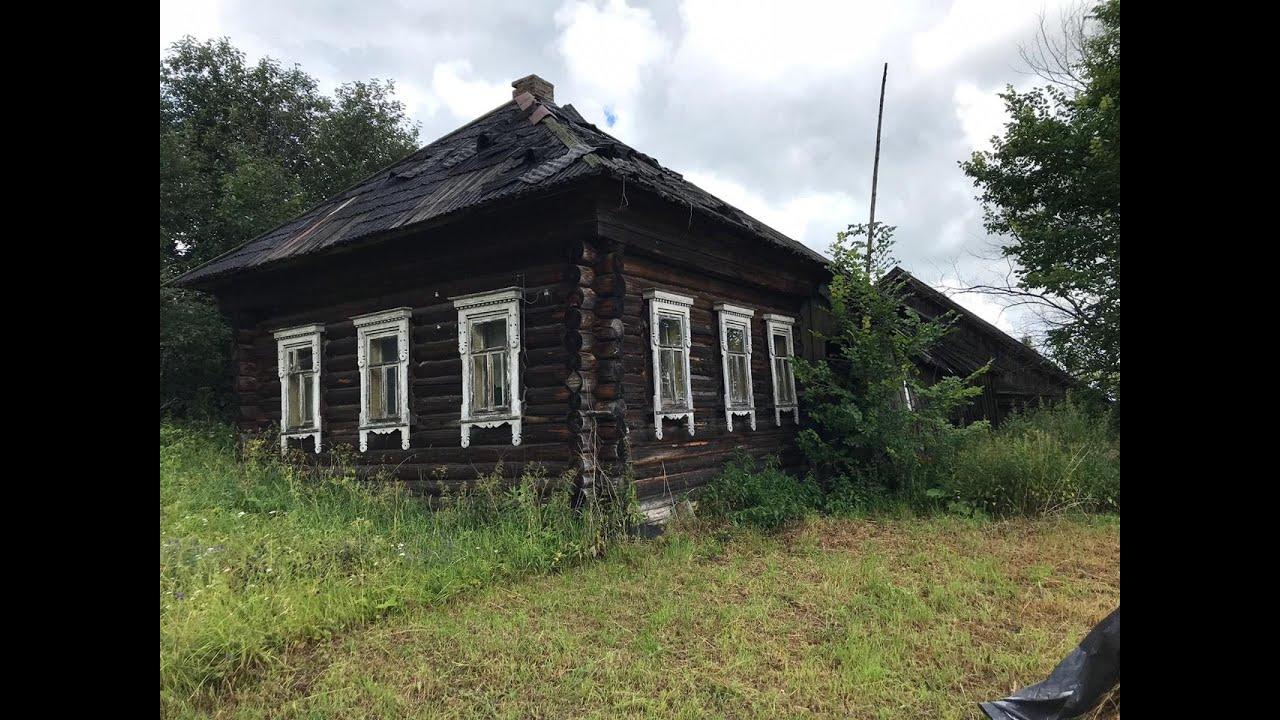 Заброшенная Деревня. Дом Ветерана Войны
