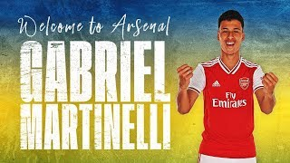 🇧🇷 Welcome to Arsenal, Gabriel Martinelli!