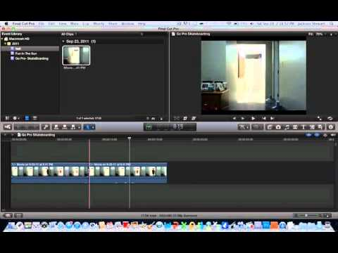 how to stop blurry clips in final cut pro