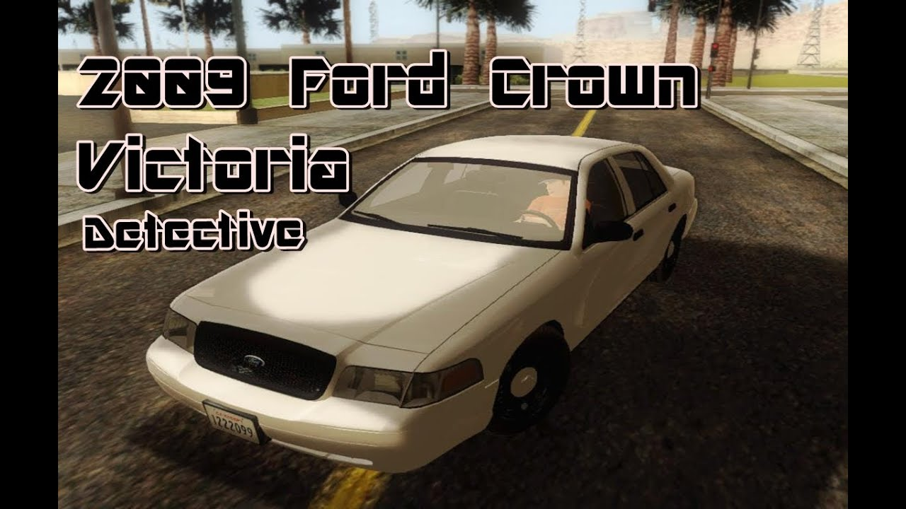 Ford Crown Victoria Detective Gtasa