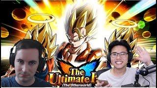 Jphanta Returns! Jp vs Global Races! LR Gogeta Super 2 vs Z-Hard: DBZ Dokkan Battle