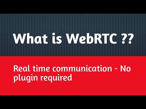 What Is WebRTC In Hindi | WebRTC Technology In Hindi