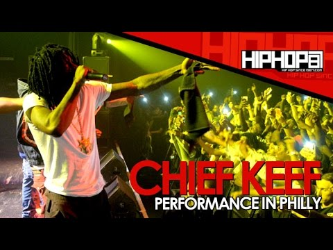 Chief Keef Performs His Hits At The TLA In Philly (09/22/14)
