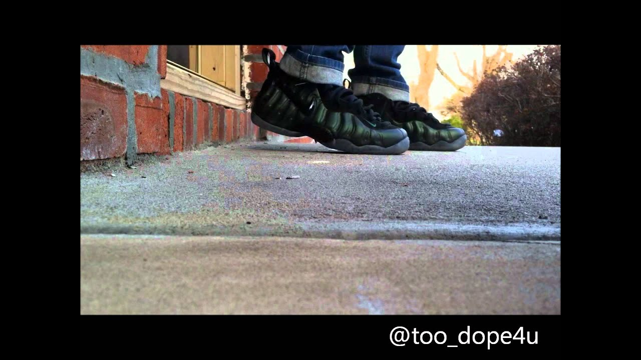 fab84b6d252 Pine Green (Nikes on my feet) - YouTube