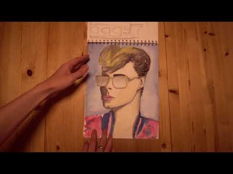Cinematic Making of - My SKETCHBOOKS 2017 - Best of Urban Sketching & Design Sketches 4K