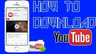 How To Download Youtube Videos On Iphone/Ipad - Youtube ++ Cydia Ios 9