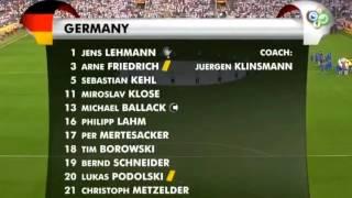 Italia vs alemania 0-2 worl cup 2006