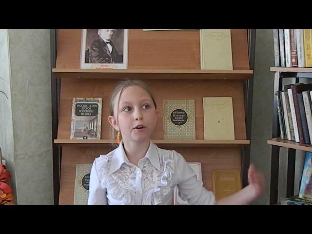 Изображение предпросмотра прочтения – ВалерияИващенко читает произведение «Весна (Зима не даром злится…)» Ф.И.Тютчева