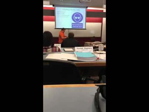 Jacob Pasco OSHA 501 Trainer Course PPE Presentation 3.2.16