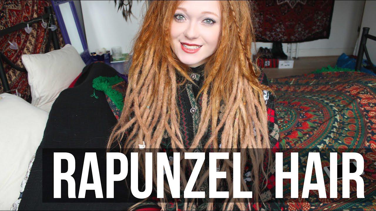 My New Long Rapunzel Hair