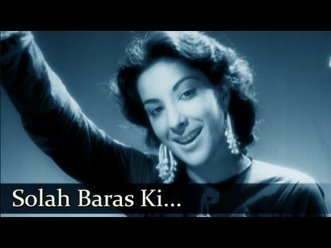 Aag - Song - Solah Baras Ki - Mohammed Rafi , Shamshad Begum