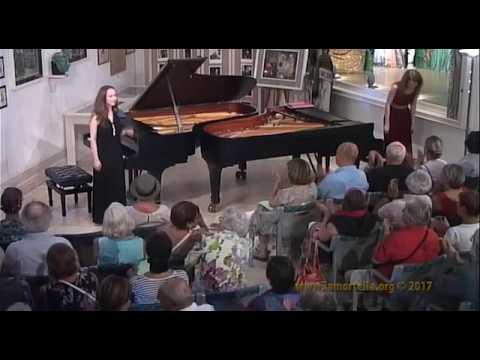 Duo Antonova-Merkulyeva esegue C. Saint-Saens - Danza Macabre