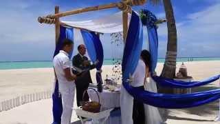 Свадьба в Доминикане, Владимир и Ирина
