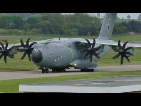 "Royal Air Force A400M ""grizzly"" ZM406 - Edinburgh Airport"