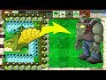 1 Cob Cannon vs Gatling Pea vs Snow Pea - Hack Plants vs Zombies
