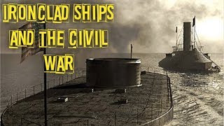 Civil War Ironclad Ships The CSS Virginia and the USS Monitor Battle!!