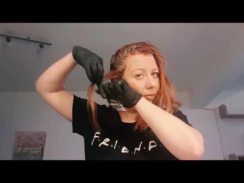 Как покрасить волосы дома самой себе - пошаговая инструкция #окрашиваниеволос  #накарантине