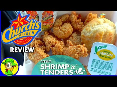 Church's Chicken® | Shrimp 'n' Tenders Platter Review! 🍤🍋🐔