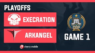 Just ML Cup Playoffs Execration vs ArkAngel Game 1 (BO3) | Just ML Mobile Legends