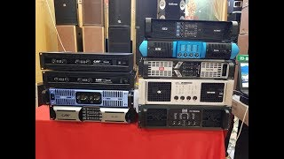 Tổng hợp 9 mẫu đẩy 4 kênh. Matin. MX 18000W. DK HN 4800. JBL MK 990. BW k8plus. POCJ AC 4850. CA PL