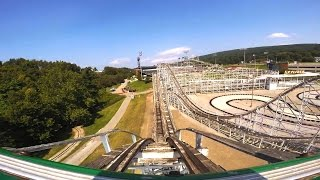 Skyliner front seat on-ride HD POV Lakemont Park