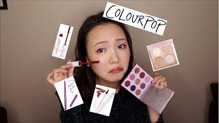 Colourpop Unboxing|开箱试用|有雷品 thumbnail