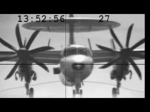 Why you go to full power on trap   E-2C cable snap USS Eisenhower