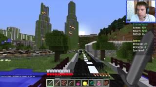 ч 65 Голодные игры  Против Бетмена Cristalix Hunger Games Minecraft