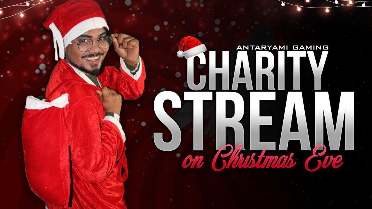 Charity Stream on Christmas Support on GPAY/PAYTM/PHONEPAY !! Antaryami Gaming