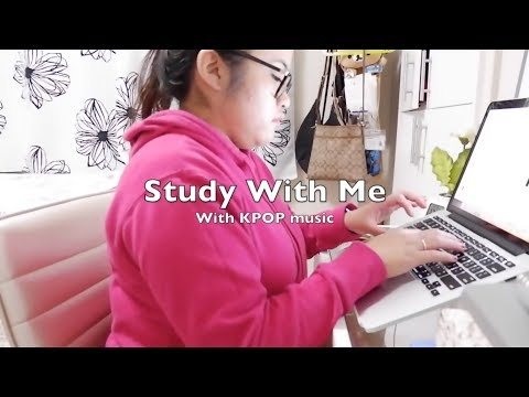 Study With KPOP Music and Me | I PASSED USING THIS: 1 Hour Focus & Concentrate