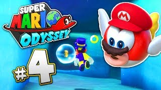 SUPER MARIO ODYSSEY Part 4 - Lake Kingdom - WE