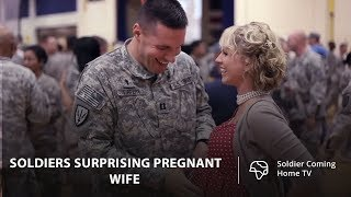 Soldiers Surprising Pregnant Wifes With Homecoming | Best Compilation 2019