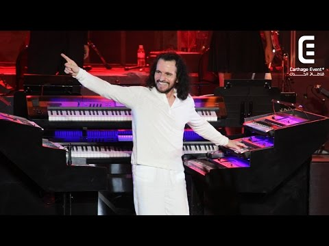 Festival de Carthage 2014 : YANNI | Carthage Event Tv