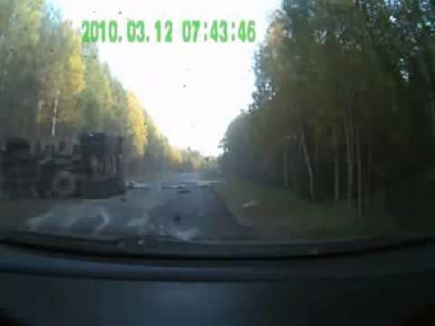 Страшная авария в Архангельской области ...