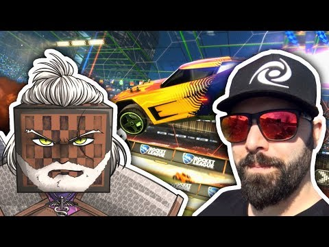 I played Rocket League with Keemstar thumbnail