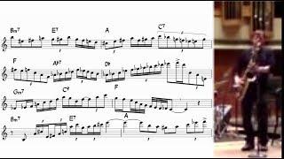Chris Potter - Giant Steps (transcription, take 2)