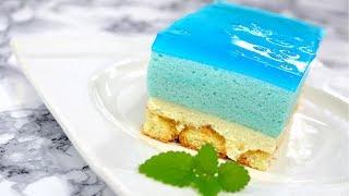 Ciasto Smerfetka bez pieczenia - Jak zrobić - Smakowite Dania