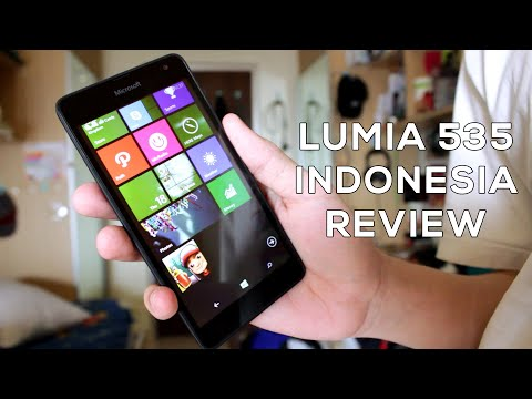 Indonesia Review Lumia 535