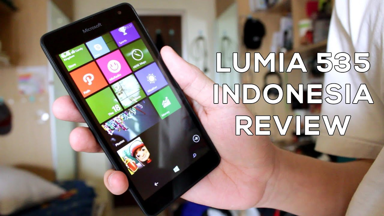 Indonesia Review Lumia 535