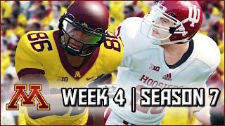 NCAA Football 14 Dynasty: Week 4 vs Indiana - BIG 10 Opener (Season 7)