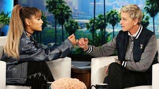 Ariana Grande Can't Stop Blushing While Talking About Boyfriend Mac Miller on 'Ellen' - Watch!
