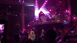 Kylie Minogue One Last Kiss (from Golden) live cafe de Paris London