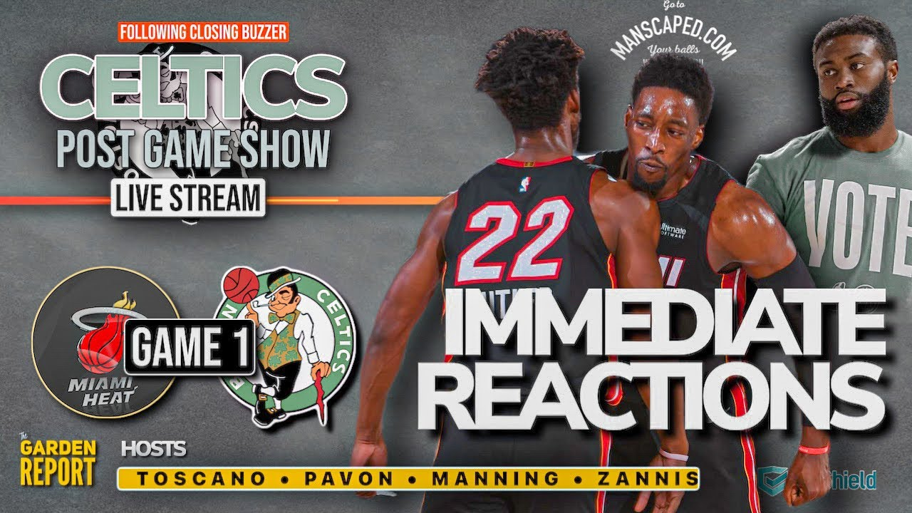 Celtics vs Heat GAME 1 LIVE Postgame Show - YouTube