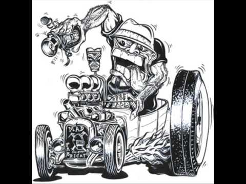 Cartoon Hot Rods & Customs Gallery – art of and inspired by Ed 'Big Daddy' Roth